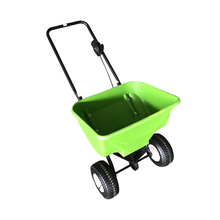 Hand held manual farm solid fertilizer spreader for sale
