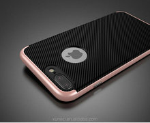 Carbon fiber phone case for Samsung j5 prime, slim armor case for Samsung j5 back cover case