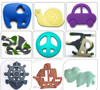 High Quality Silicone Teether Baby Pacifier/Baby Pacifier Wholesale