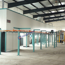Bicycle Mud Flap Powder Coating Line System for Powder Coating Plant
