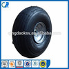 factory direct wholesale pneumatic wheel 400-4 rubber wheel for hand trolley