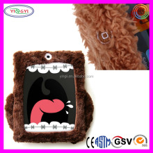 A313 Soft Plush Cartoon Tablet Furry Cover 10.8 Inch Tablet Case