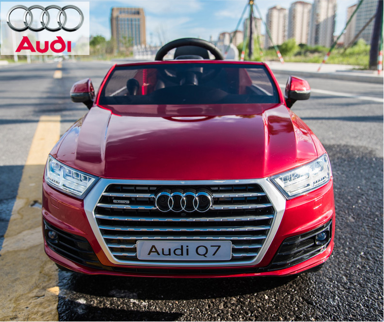 Audi Q7 ride on plastic battery power big car for kids