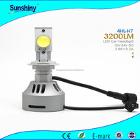 New try headlights for renault clio 12v 24w h7 H8 H10 H11 12V 24V led headlight for motorcycle