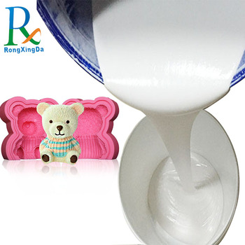 Factory price of liquid silicone rubber for make resin toys mold