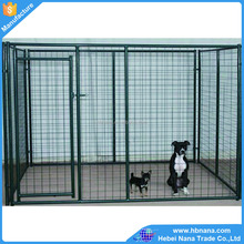 US and Canada standard size wire mesh dog kennels / large dog cage for sale
