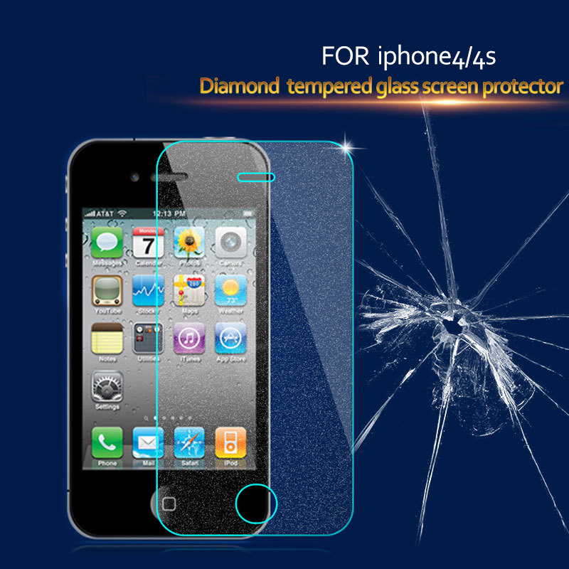 Hot Sell Mobile Phone Diamond 3D Screen Protector for iPhone 5