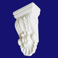 Vintage Style Victorian Architectural Ornamental Hand Carved Corbel For Exterior Wall Decor 3622