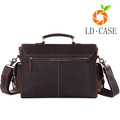 New leather vintage coffee camera case hard bag outdoor portable gift camera bag
