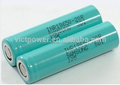 3.7V rechargeable 18650 battery 2000mah INR18650-20r for samsung