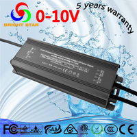 Waterproof constant voltage 120W 24V led 0-10V dimming driver
