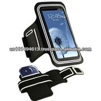Sports Armband for Samsung i9300 Galaxy S3 - White-