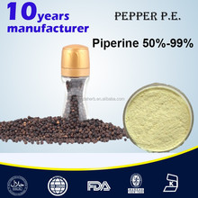 Wholesale grades of black pepper extract powder 95% piperine 95%