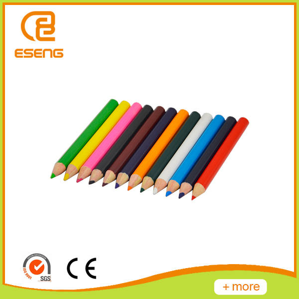 Round color pencil packaging cheap wholesale
