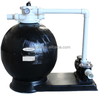 CS series swimming pool sand filter water treatment with pump for water clean