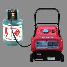 Hot sale OEM price small size LPG gas generator 3kw