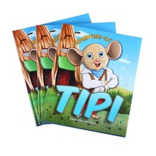 printing custom softcover paperback children's kids books