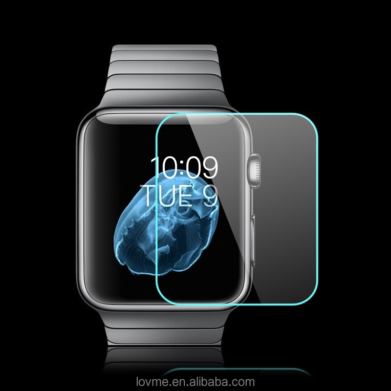 100% Genuine Tempered Glass Screen Protector For Apple Watch