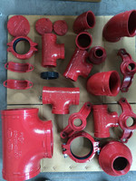 FM UL CE approved Ductile Iron grooved Pipe fitting
