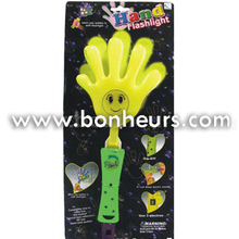 New Novelty Toy Noise Maker Sticks Flashing Clapper Hand