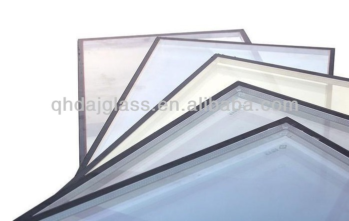 double pane tempered insulated glass with 3C&ISO9001 certificate