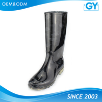Factory good quality best price rain boots men