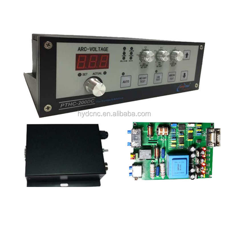 Best price cnc torch height controller Arc voltage model HYD  PTHC-200DC for plasma