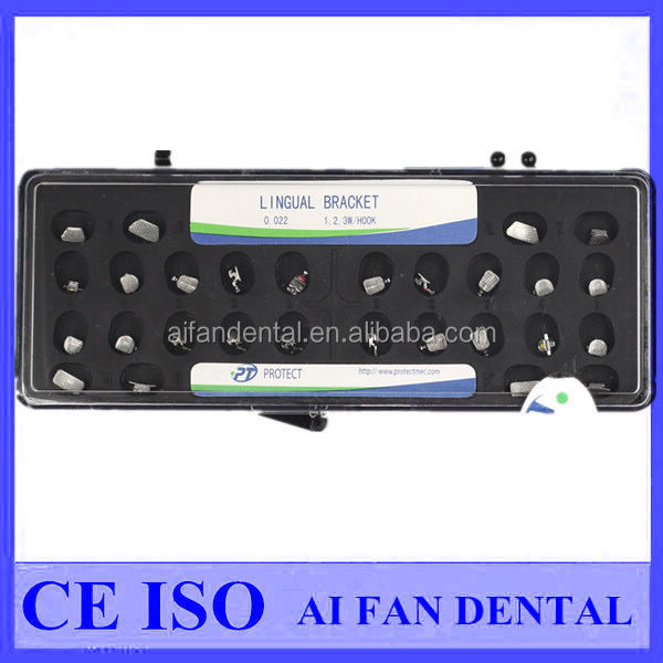 [ AiFan Dental ] Lingual protect orthodontic brackets