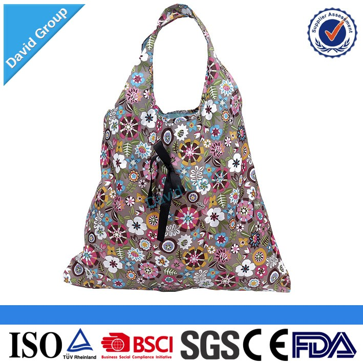 Factory Direct Supply Fabric and Pattern Reusable Shopping Bag