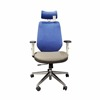 2017 overseas wholesale ergonomic mesh office chair with headrest