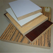 fire rated melamine board/water proof melamine board/commercial plywood for indoor use