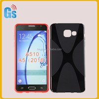 Flexible Soft TPU X Line Case For Samsung Galaxy A5 A510F A510 Cover For Samsung A5 Upgrade A510F 2016