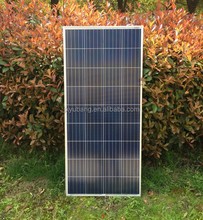 Manufacturer CE ROHS 130W 12V poly crystalline solar pv panel module