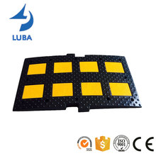 900mm Heavy Duty Road Safety Rubber Speed Hump