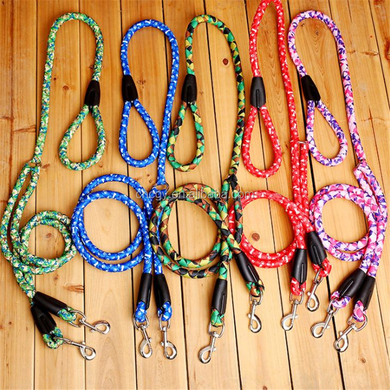 Dog leash yituo second round rope double hook Tow rope