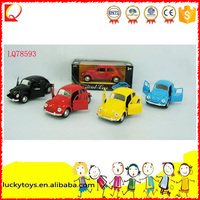 Hot crazy die cast model car Pull Back Vehicle can open the door