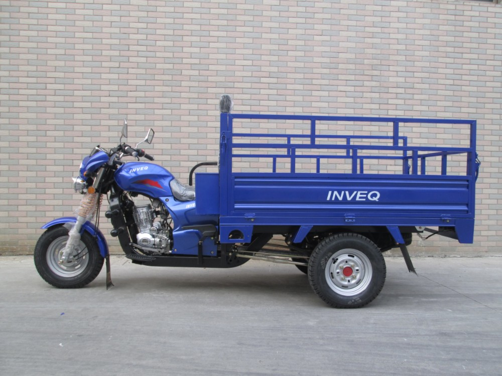 Heavy Loading Pedal/Gas Cargo Tricycle / Three Wheel Motorcycle use for Cargo