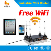 CM520-87F 4g 3g industrial modem router with WiFi support RS485 RS232 to Cellular wireless gateway with sim card 4 Lans for IOT