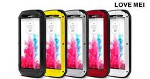 Love Mei Powerful Metal Aluminum Waterproof Case For Lg G3,Waterproof Mobile Phone Case For Lg G3