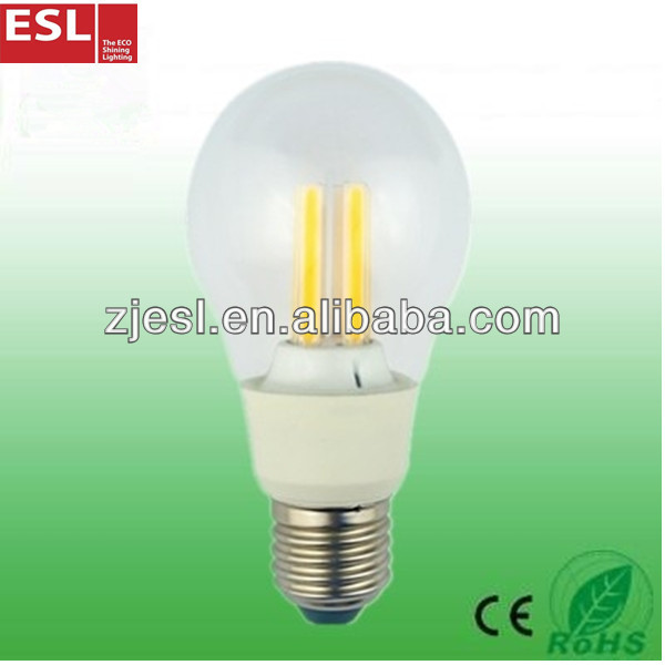 new products on china market A60 E27 470lm 4.7W 360 degree led light bulb