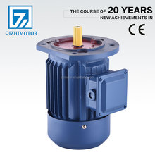 pole changing three phase electric motor 1kw