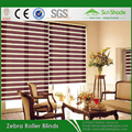 Blackout Fabric indoor zebra fabric roller blind shades