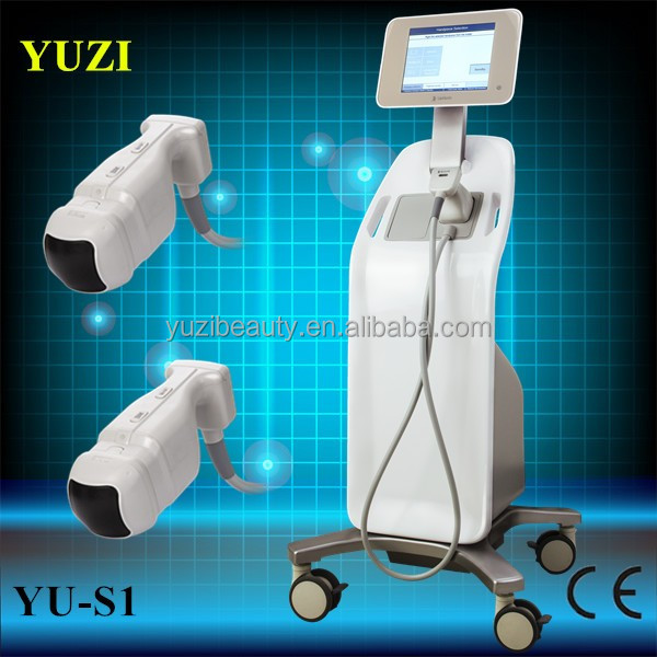 YU-S1 CE approved vacuum cavitation rf llipo hifu sonix fat reduction / liposonix machine