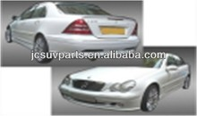 High quality FRP L style W203 body kit for Mercedes Benz W203 body bumper kit
