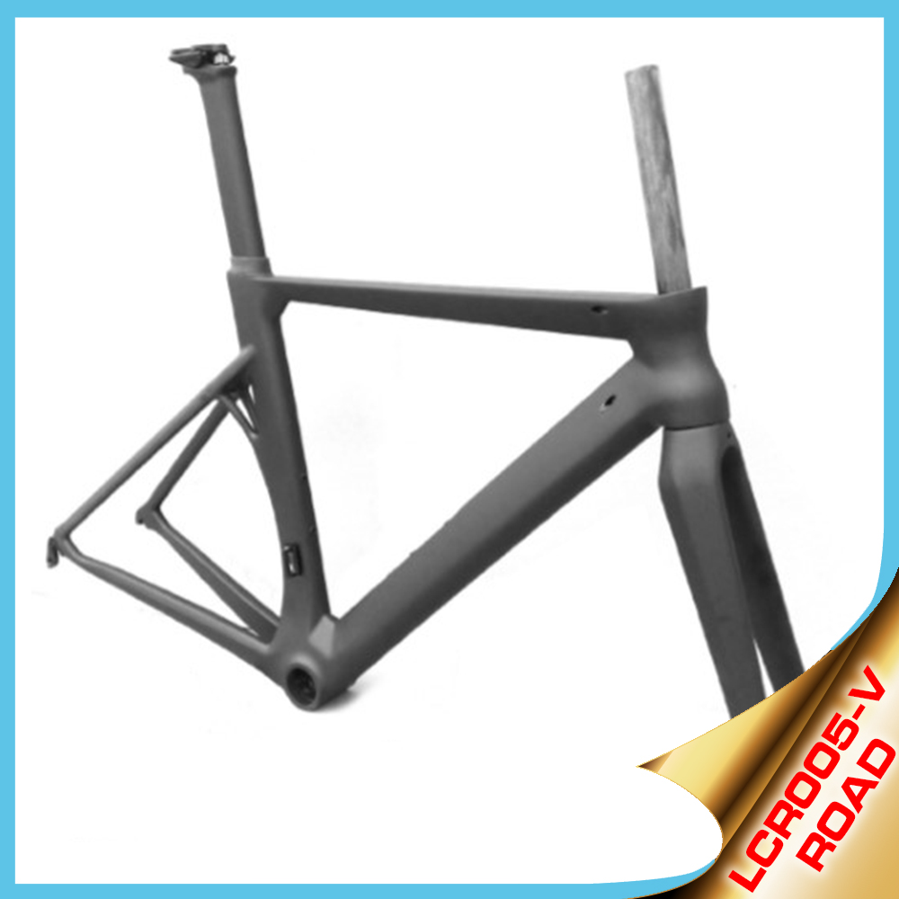 2016 YISHUN BIKE Road bike carbon fiber bicycle frames aero & strong frame kit chinese factory LCR005-V