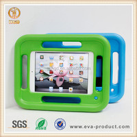 EVA foam shock absorbent kid safe multifunctional tablet case for iPad mini