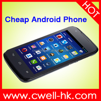 4.0 inch dual sim android 4.4 OS dual sim lowest price china android phone with 2.0 MP camera and wifi