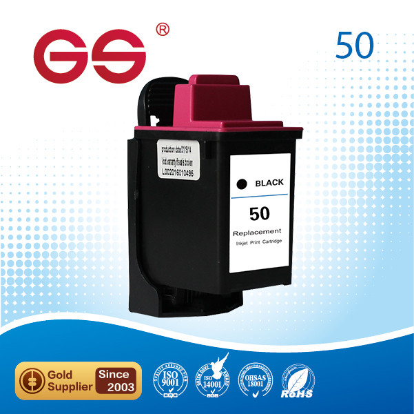 For lexmark 50 Remanufactured Ink Cartridge for 50 Black(17G0050) refill reset chip