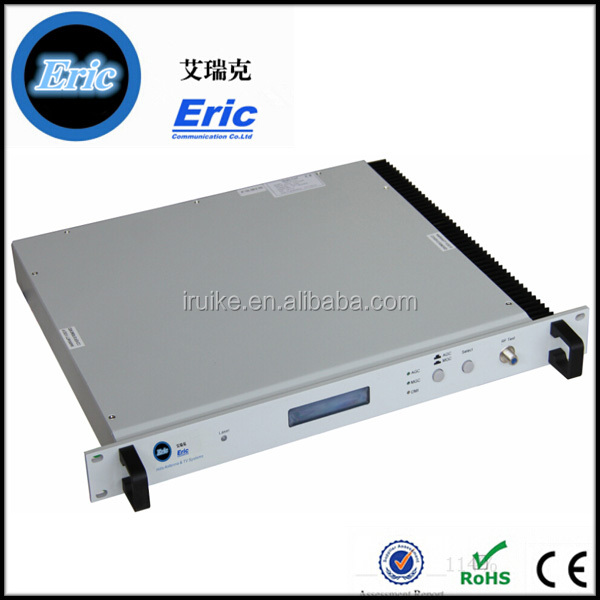 Ftth CATV 1550nm/ 1310nm high quality fiber optic transmitters with dual power pluggable