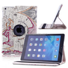 For NEW iPad Air 5th 5 Gen 360 Rotating Stand Luxury Leather Case Smart Cover